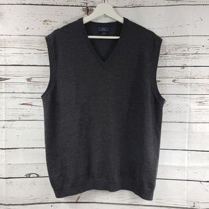 """Brooks Brothers Classic """"346"""" Wool Sweater Vest"""